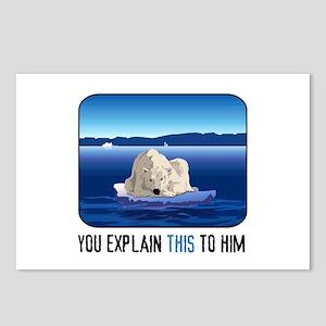 Arctic Polar Bear Postcards (Package of 8)