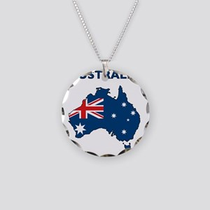 australia26 Necklace Circle Charm