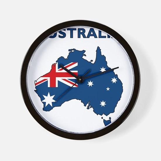 australia26 Wall Clock