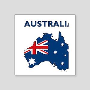 """australia26 Square Sticker 3"""" x 3"""""""