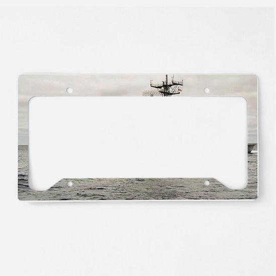 rmdavis framed panel print License Plate Holder
