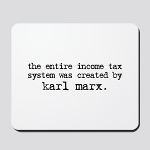 Income Tax System Mousepad