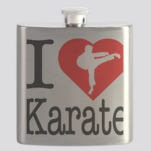I-Heart-Karate Flask