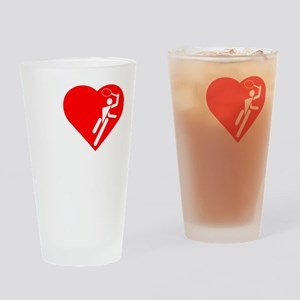I-Heart-Tennis-3-darks Drinking Glass