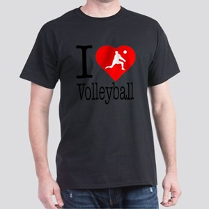 I-Heart-Volleyball Dark T-Shirt