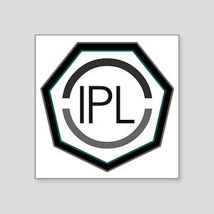 "IPL - Solid Logo Square Sticker 3"" x 3"""