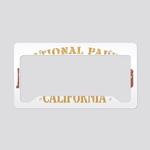 Redwood 2 License Plate Holder