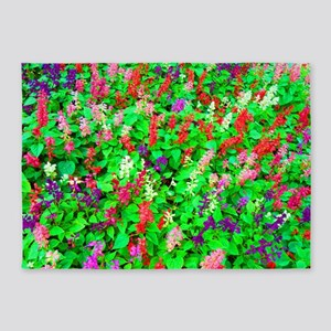 All The Pretty Flowers 5'x7'Area Rug