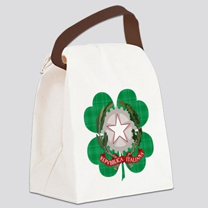 Irish Italian Heritage Canvas Lunch Bag