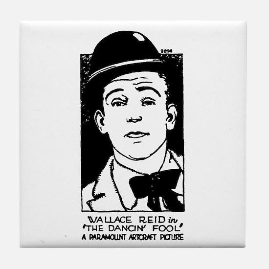 Wallace Reid Tile Coaster