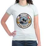 USS HOUSTON Jr. Ringer T-Shirt