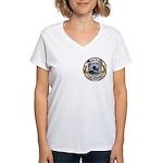 USS HOUSTON Women's V-Neck T-Shirt