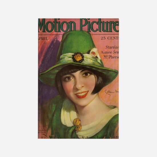 Colleen Moore Rectangle Magnet