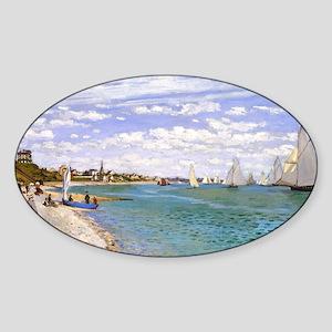 GC Monet 6 Sticker (Oval)