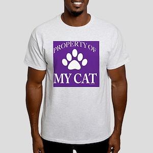 PropCat-WoDkPurp-11x11 Light T-Shirt