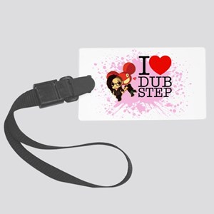 ilovedubstep Large Luggage Tag