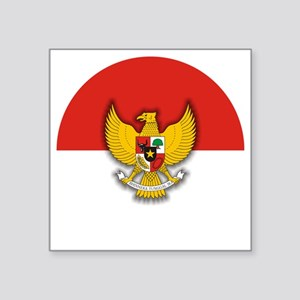 "Indonesia (necklace) Square Sticker 3"" x 3"""
