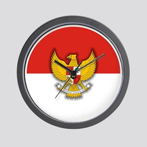 Indonesia (necklace) Wall Clock