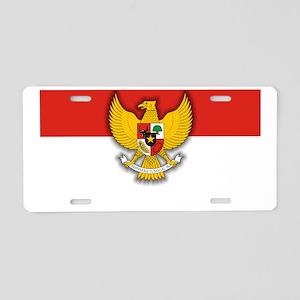 Indonesia (Laptop Skin) Aluminum License Plate