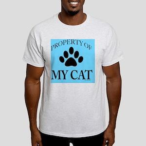 PropCat-BonNeonBlue2-11x11 Light T-Shirt