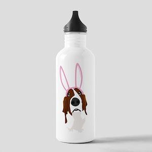 easter_basset_noback Stainless Water Bottle 1.0L
