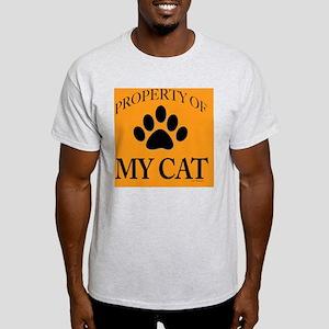PropCat-BonDrkOrg-11x11 Light T-Shirt