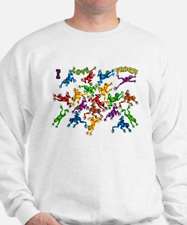 Colorful Poison Dart frogs Jumper