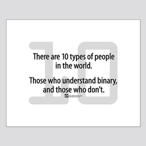 10 Types of People (NEW!) -  Small Poster
