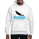 Dolphin Freedom Hooded Sweatshirt
