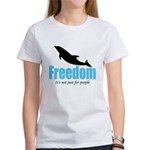 Dolphin Freedom Women's T-Shirt