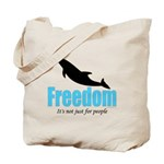 Dolphin Freedom Tote Bag
