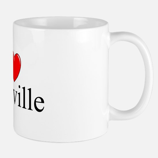 """I Love Vacaville"" Mug"
