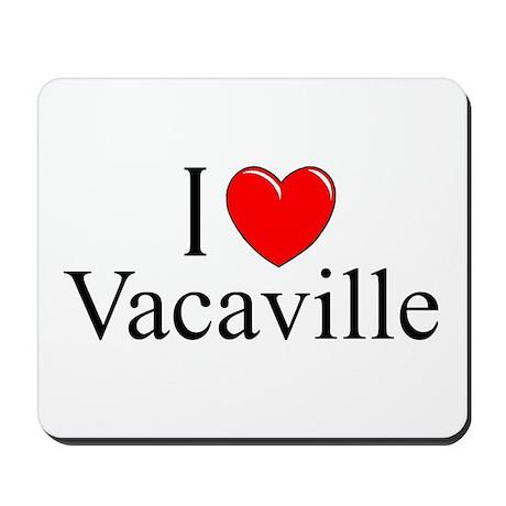 """I Love Vacaville"" Mousepad"