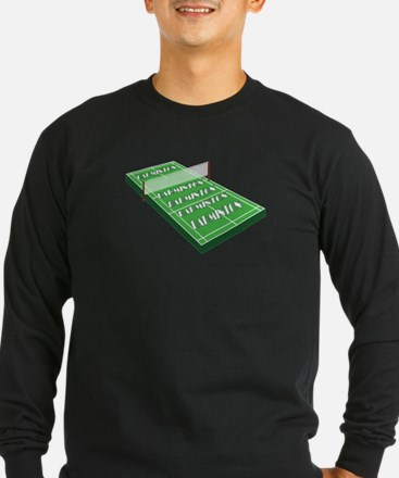 Badminton Shirt - Badminton Fu Long Sleeve T-Shirt