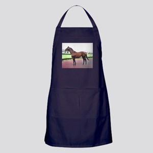 REAL QUIET_8x10_conformation Apron (dark)