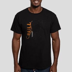 grungesilhouette3 Men's Fitted T-Shirt (dark)