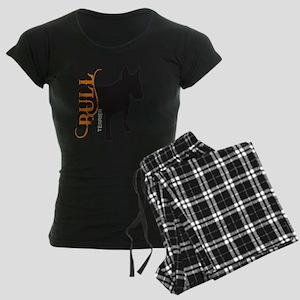 grungesilhouette3 Women's Dark Pajamas
