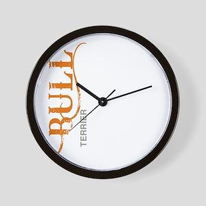 grungesilhouette2 Wall Clock