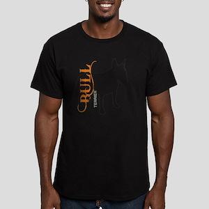 grungesilhouette Men's Fitted T-Shirt (dark)