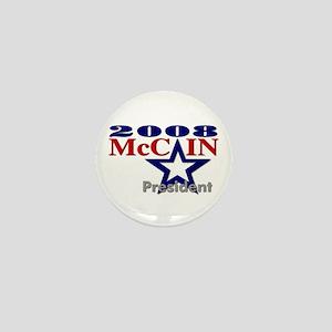 """::: McCain - """"A"""" Star ::: Mini Button"""