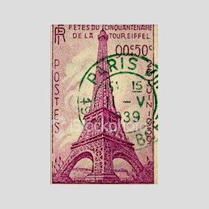 Vintage Stamp Rectangle Magnet