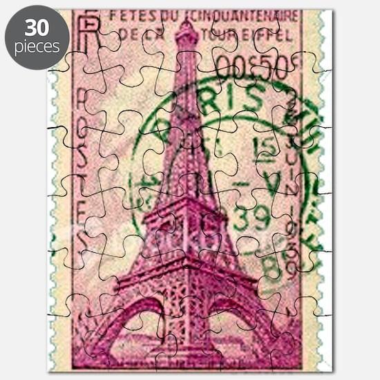Vintage Stamp Puzzle