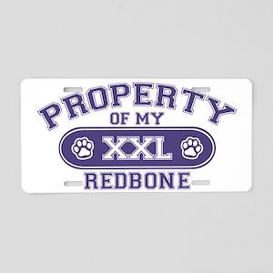 redboneproperty Aluminum License Plate