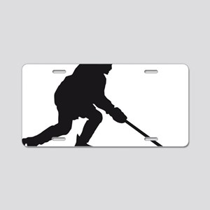 Eishockey player 1c Aluminum License Plate