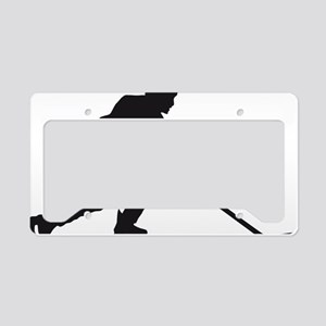 Eishockey player 1c License Plate Holder