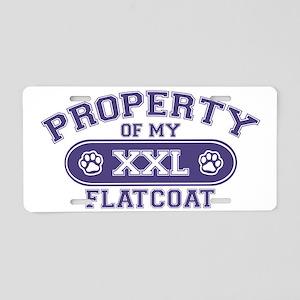 flatcoatproperty Aluminum License Plate