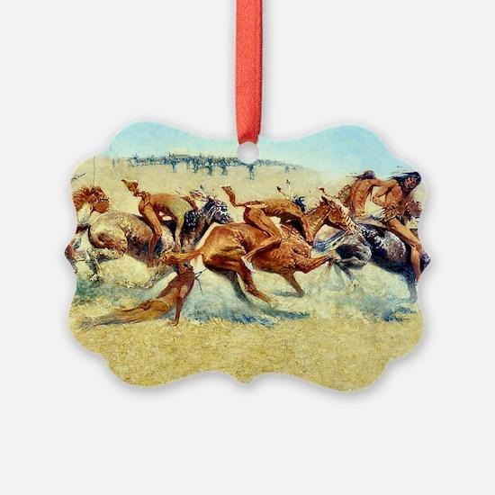 Indian Warfare, 1908 Ornament