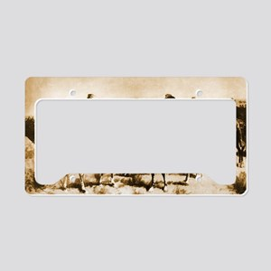 Meeting Between the Lines, a. License Plate Holder
