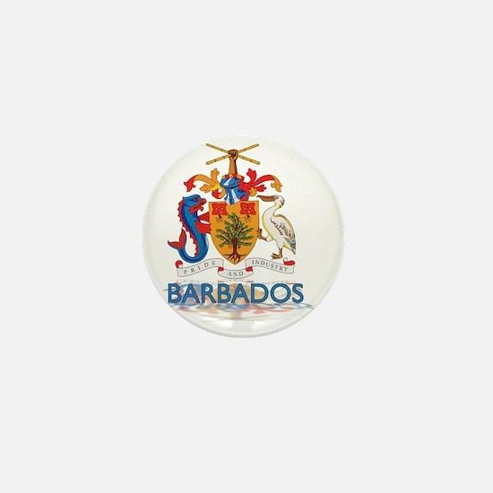 3DBarbados3 Mini Button