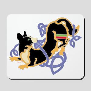 CWCorgiBlkTrans Mousepad